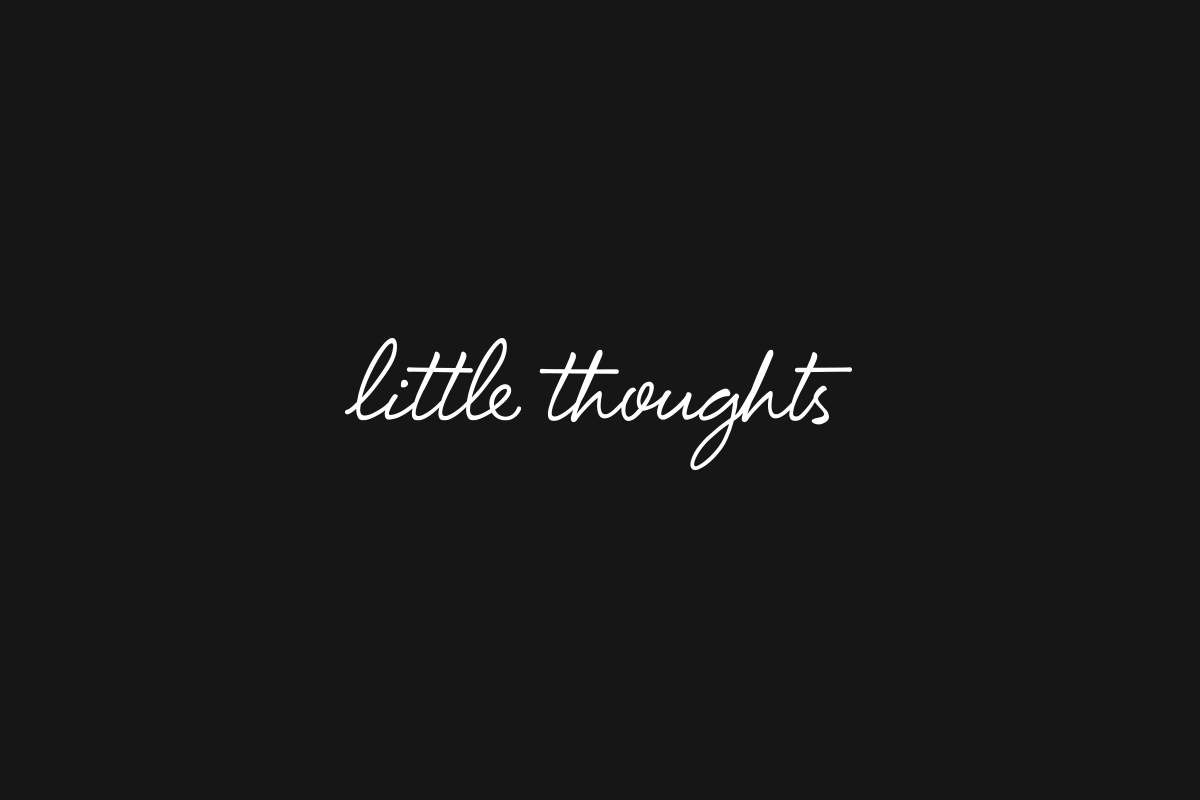 Little Thoughts PR